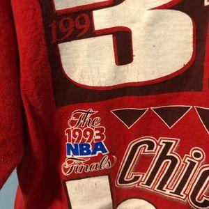 Fruit of the Loom Shirts - 1993 Chicago Bulls 3-Peat Shirt